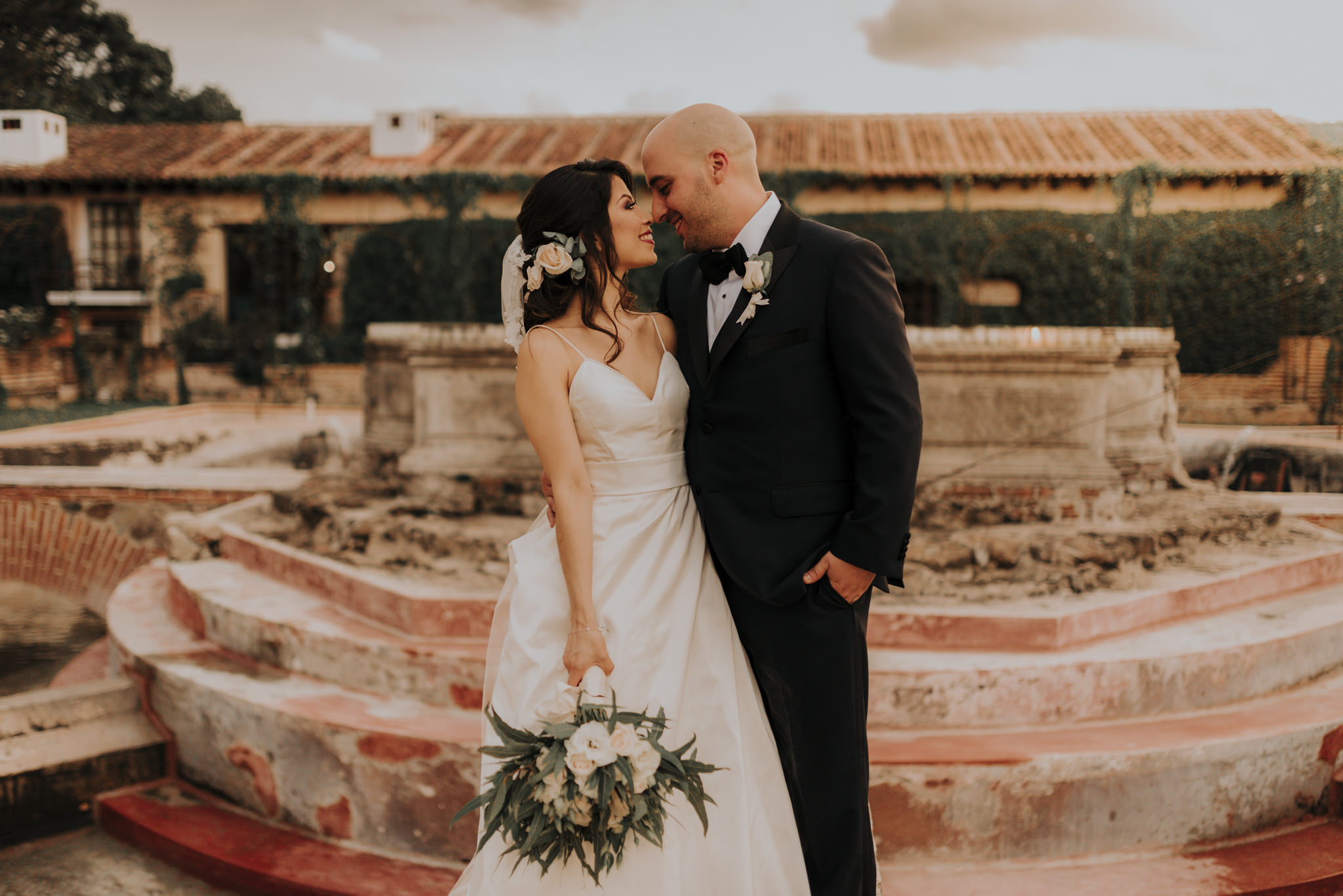 Boda en Antigua Guatemala, Hotel Casa Santo Domingo – Joseline y Rafael